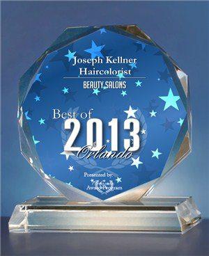 Joseph Kellner Salon - 2013 Best of Orlando Award!